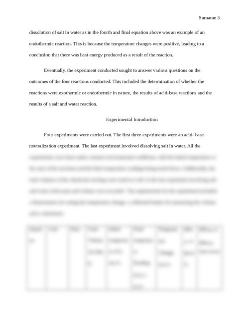 Acid-Base Neutralization Calorimetry - Page 3