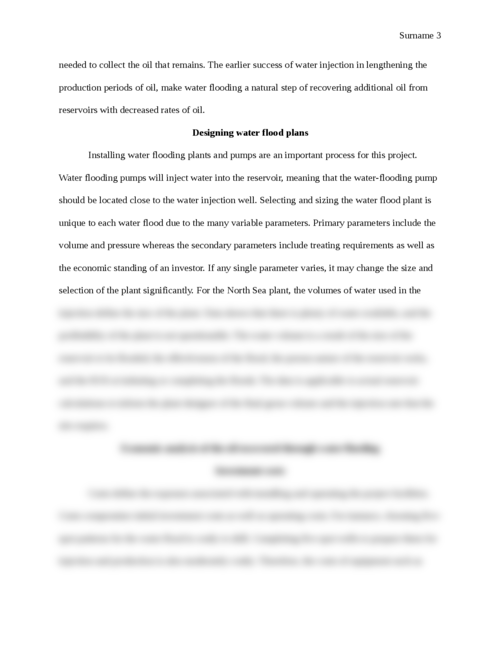 Economics of Water Flooding - Page 3
