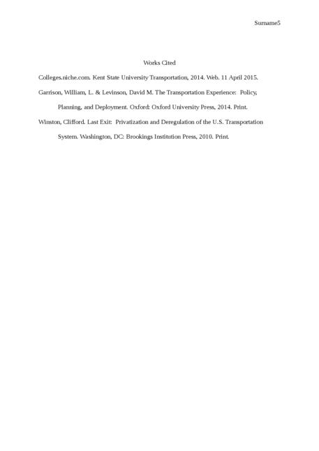 Transportation at Kent State University - Page 5