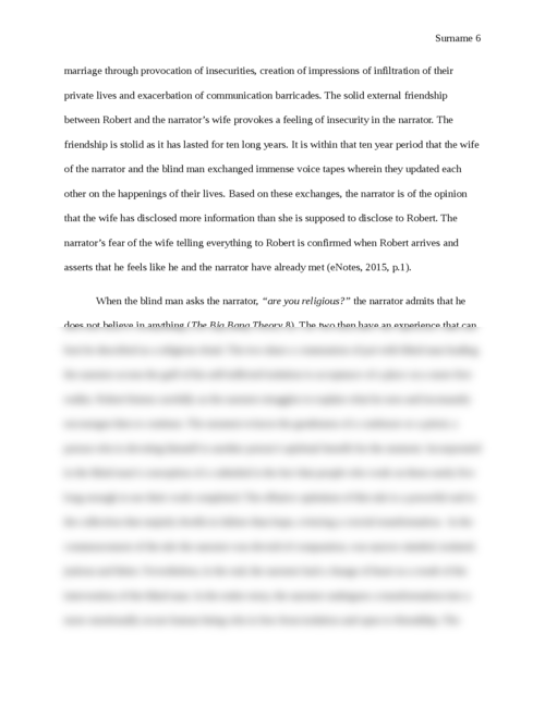Value of friendship in The Big Bang Theory and Cathedral - Page 6