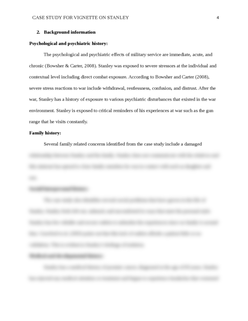 CASE STUDY FOR vignette on STANLEY  - Page 4