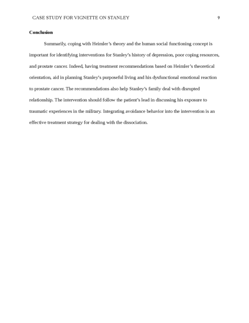 CASE STUDY FOR vignette on STANLEY  - Page 9