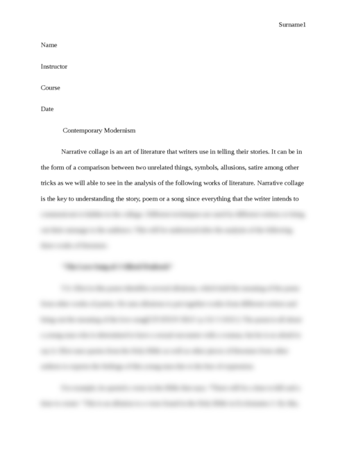 Contemporary Modernism - Page 1