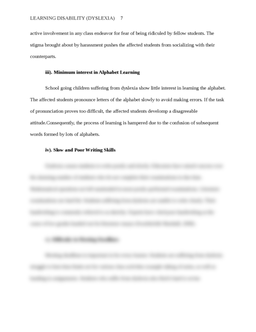 Learning disability (Dyslexia) - Page 7