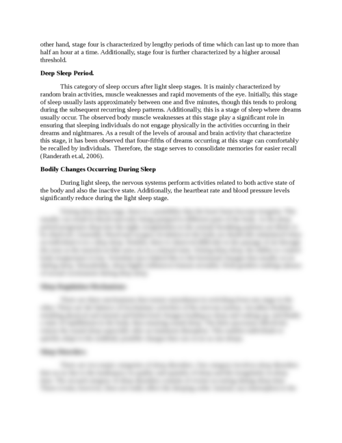 Sleep Physiology - Page 2