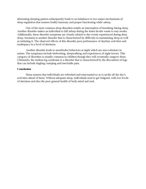 Sleep Physiology - Page 3