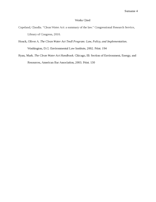 Environmental Law and Its Connection to Economics - Page 4