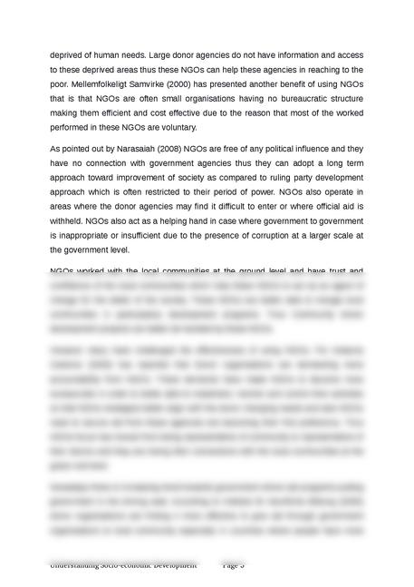 Report on Understanding the development module - Page 5
