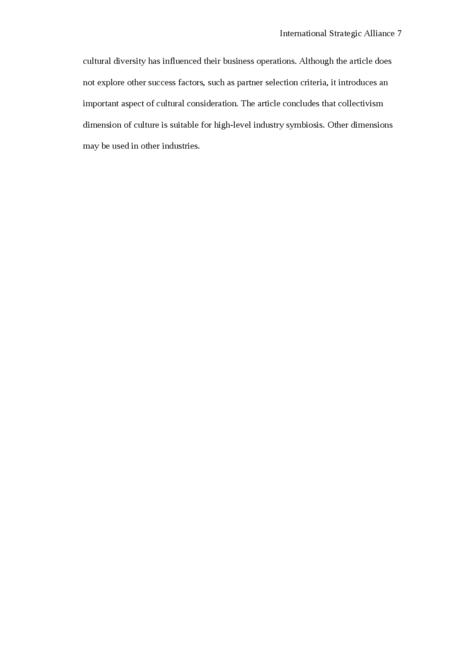 International Strategic Alliance - Page 7