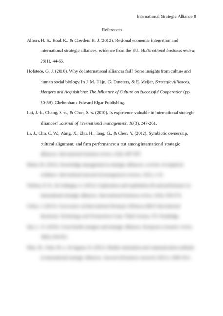 International Strategic Alliance - Page 8