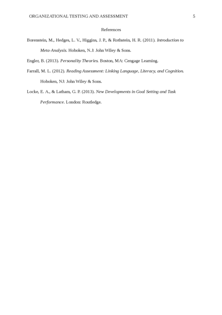 organizational testing and assessment - Page 5