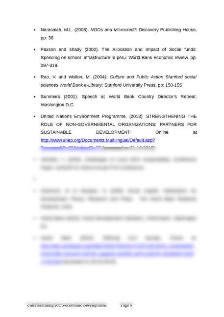 understanding socio-economic development - Page 9
