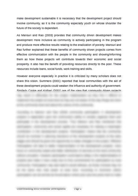 understanding socio-economic development - Page 2