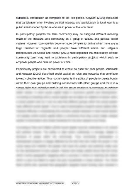 understanding socio-economic development - Page 3