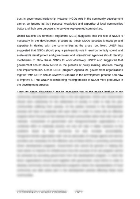understanding socio-economic development - Page 6