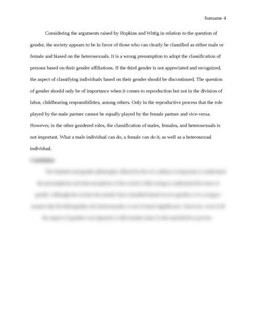 Feminist Philosphy - Page 4