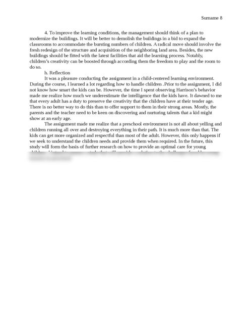Preschooler Observation Verification - Page 8